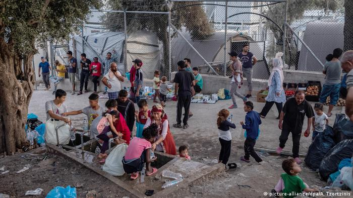 Symbolbild Migranten in Griechenland