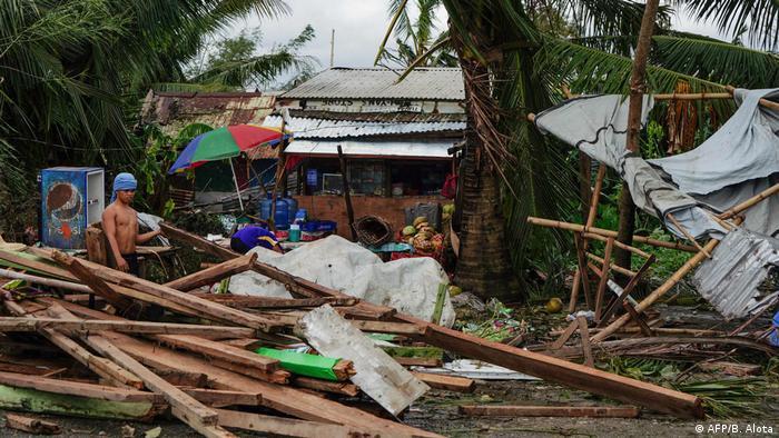 Philippinen Taifun Phanfone (AFP/B. Alota)