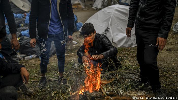 Griechenland Migration l Flüchtlingslager auf Lesbos