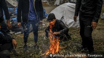 اوضاع پناهجویان در لسبوس یونان وخیم است