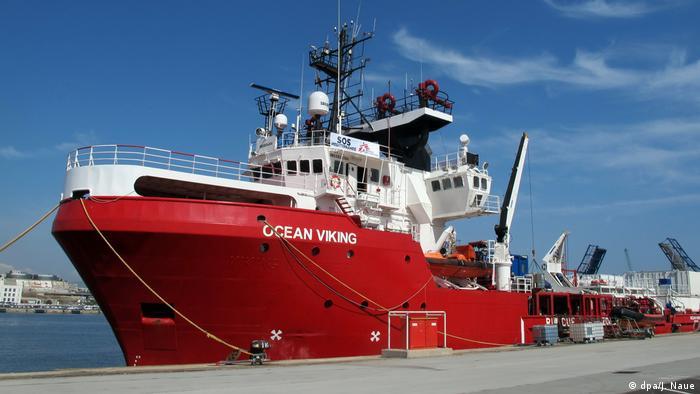 """An Bord der """"Ocean Viking"""""""