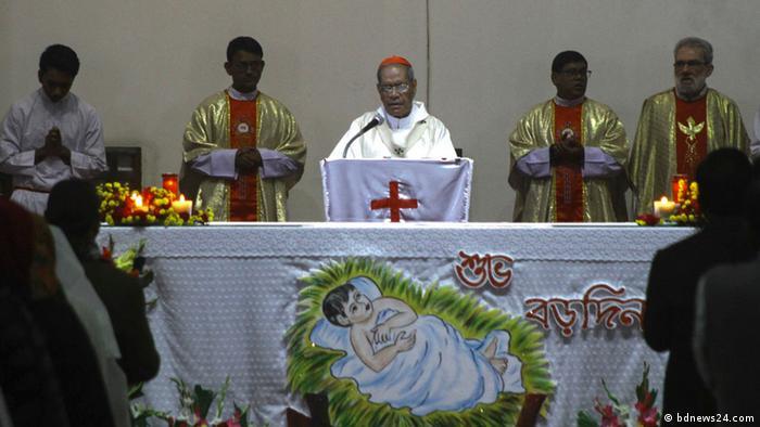 Bangladesch l Weihnachten in Dhaka (bdnews24.com)