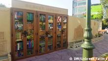 Pakistan Kultur l Erste Straßen-Bibliothek in Karachi