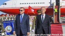 Tunesien Tunis | Recep Tayyip Erdogan, Präsident Türkei & Kais Saied