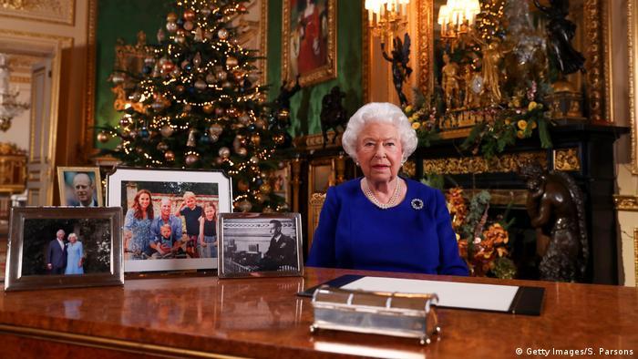 Großbritannien Windsor Castle | Queen Elizabeth II, Weihnachtsansprache (Getty Images/S. Parsons)