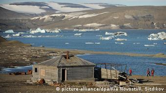 Russland Arktis Novaya Zemlya Archipelago (picture-alliance/dpa/Ria Novosti/R. Sitdikov)