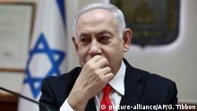 Israel: Rakete zwingt Benjamin Netanyahu / Netanjahu in Bunker