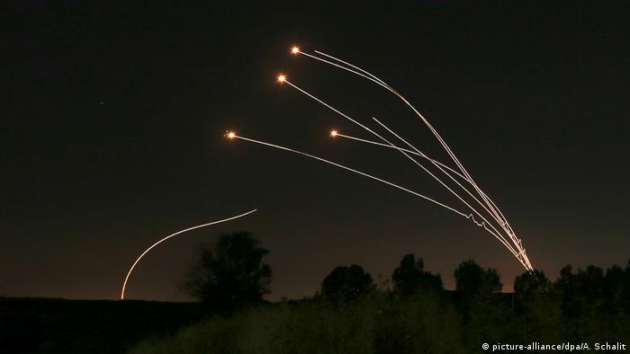 Symbolbild - Nahost-Konflikt - Gaza (picture-alliance/dpa/A. Schalit)