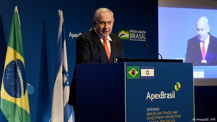 Israelischer Premier Benjamin Netanyahu / Netanjahu