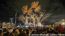 Mexiko, Mexiko City - Feuerwerk Symbolbild