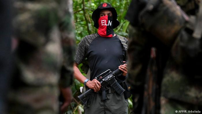 Kolumbien ELN Kämpfer