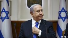 Benjamin Netanjahu Ministerpräsident von Israel