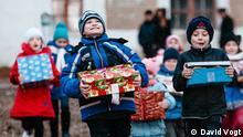 Ukraine Weihnachten im Schuhkarton Kinder