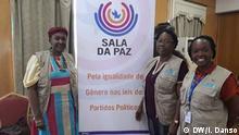 Women engaged in presidential elections in Guinea-Bissau Was zu sehen ist: Guinea-Bissau Women's Political Platform Wann und wo: December 2019 – Bissau, Guinea Bissau Copyright: Iancuba Dansó, DW