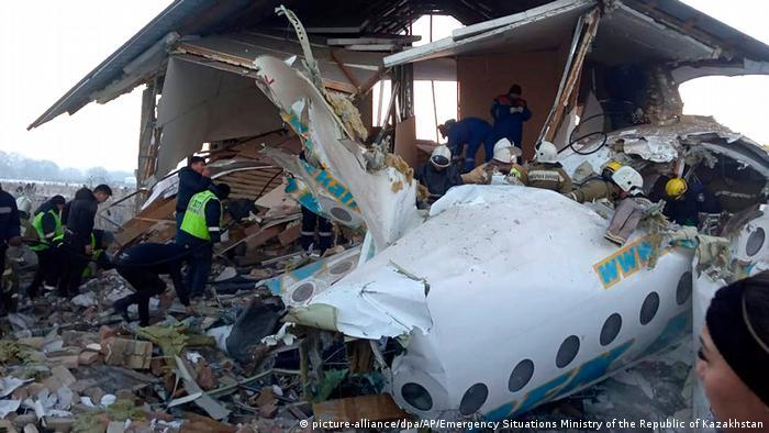 Flugzeugabsturz in Kasachstan