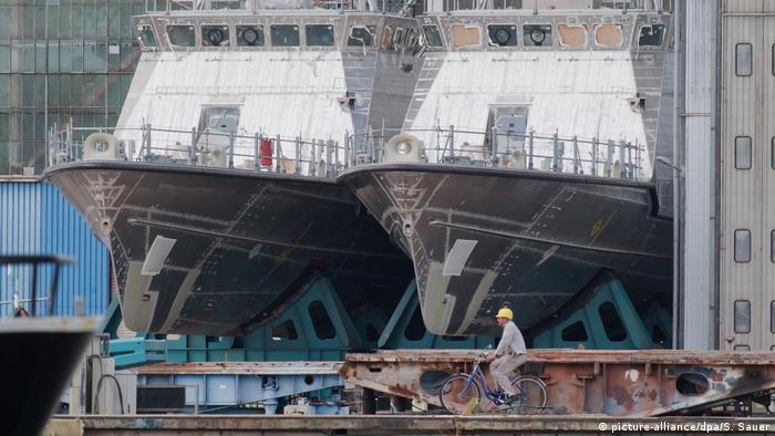 Wolgast Patrouillenboote für Saudi-Arabien