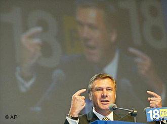 Wolfgang Gerhardt é candidato potencial ao cargo de ministro das Relações Exteriores
