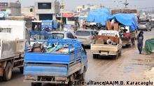 Syrien Flucht aus Idlib Provinz