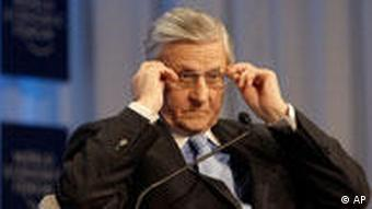The head of the European Central Bank, Jean-Claude Trichet