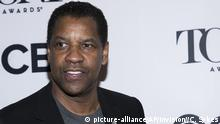 USA l US-Schauspieler Denzel Washington - Tony Awards