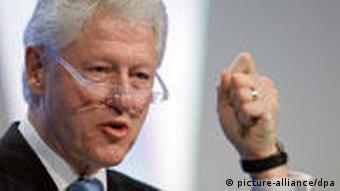 Der frühere US-Präsident Bill Clinton (Foto: dpa)