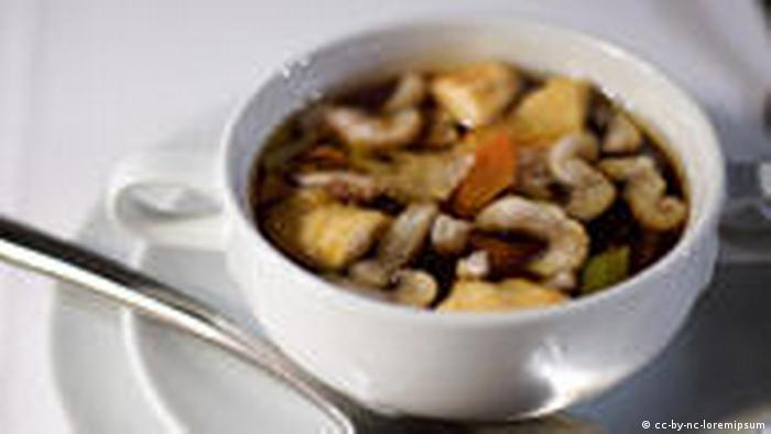 Немецкая кухня - Гамбург - суп из угря
