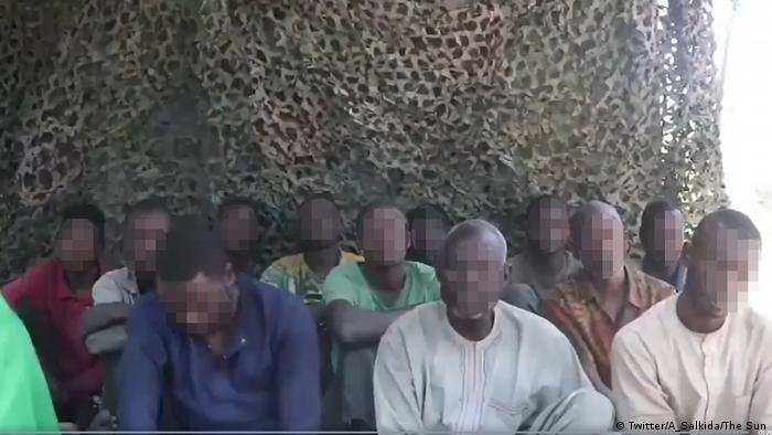 Screenshot Bekennervideo Islamic State West Africa Province 27.12.2019