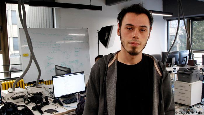 Serbien Startup-Center in Nis | Mihajlo Djokic