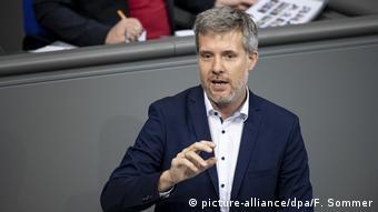 Депутат бундестага от партии зеленых Дитер Янецек