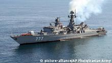Iran Golf von Oman, Tschahbahar | Iran, China, Russland - gemeinsame Marine-Übung