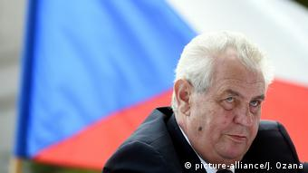 Češki predsjednik Miloš Zeman