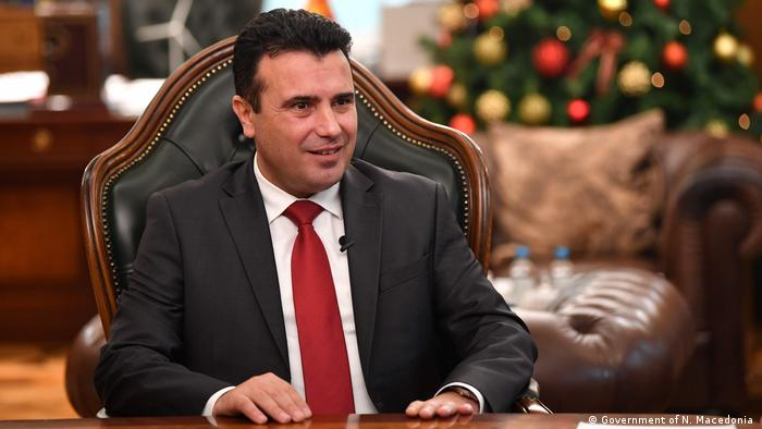Nord-Mazedonien: Interview mit Premierminister Zoran Zaev (Government of N. Macedonia )