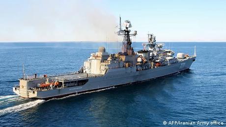 China, Russland und Iran beginnen gemeinsame Marineübungen (AFP/Iranian Army office)