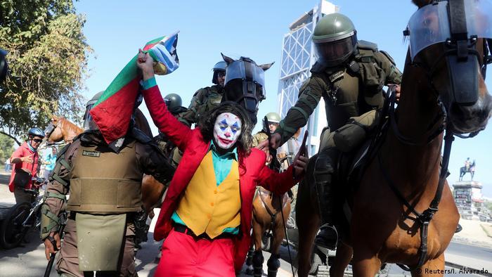 BdTD Chile Santiago Proteste (Reuters/I. Alvarado)