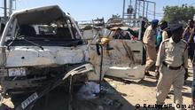 Somalia Mogadischu Autobombe an Checkpoint