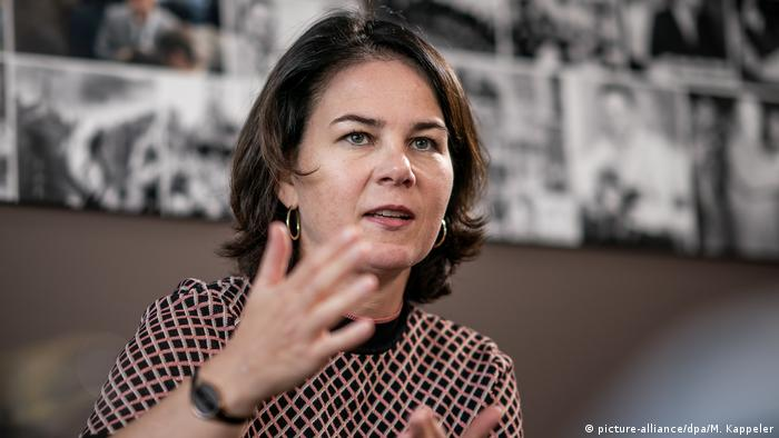 Analina Burbock (Bild-Allianz / dpa / M. Kappeler)