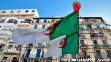 Algerien Algiers | Anti-Regierungsprotest, Flagge