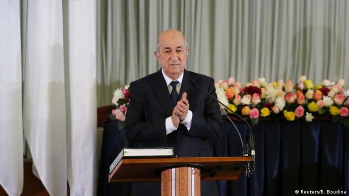 Algerien Abdelmadjid Tebboune, neu gewählter Präsident (Reuters/R. Boudina)