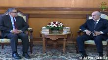 Algerien Abdelaziz Djerad, neuer Ministerpräsident & Abdelmadjid Tebboune, Präsident