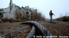 Ukraine Konflikt | Butovka, zerstörtes Kohlebergwerk