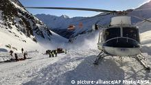 Italien Südtirol Schnalstal | Lawinenunglück