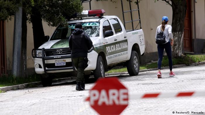 Bolivien diplomatische Krise zwischen Spanien und Bolivien