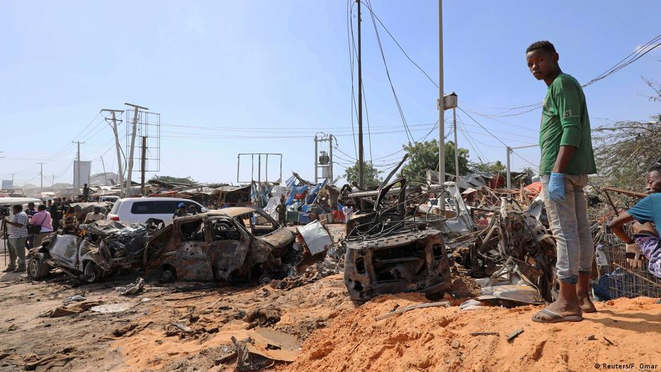 US targets al-Shabab militants after deadly Mogadishu bombing | DW | 30.12.2019