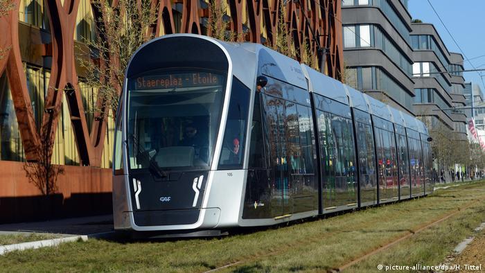 Трамвай в Люксембурге
