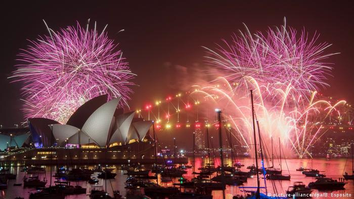 Last year's Sydney New Year fireworks display