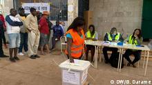 Autor: Braima Darame, DW Korrespondent Ort: Bissau Thema: Wahl Bissau Guinea - 2 Round Dezember 2019