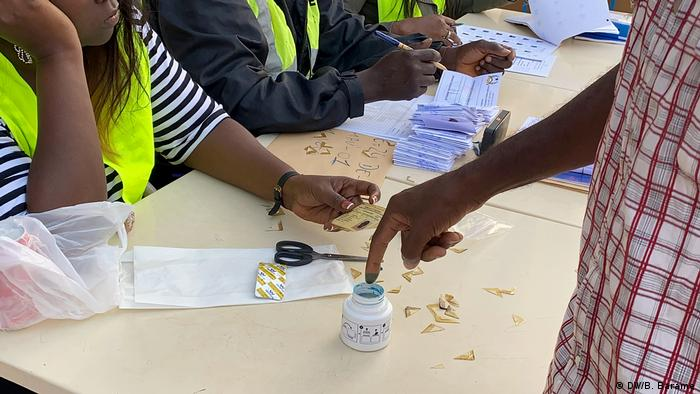 Guinea Bissau Wahlen Präsidentenwahl 2. Runde