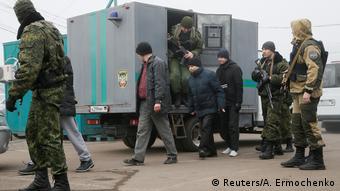 Обмен осужденными и удерживаемыми лицами в Донбассе