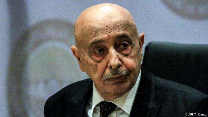 رئيس مجلس النواب الليبي عقيلة صالح عيسى