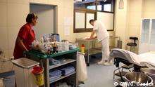 ZU: Immer weniger Ärzte in den Krankenhäusern in Kroatien Krankenhaus in Virovitica
